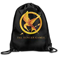 NasNew The Hunger Games Logo Men & Women Drawstring Backpack Rucksack Shoulder Bags Gym Bag