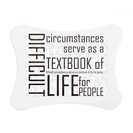 Amazon.com: Quote Difficult Circumstances Is The Textbook Life Paper ...