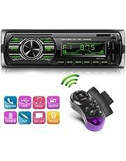 Autoradio Bluetooth Stereo da auto Lettore MP3 WMA Car Radio Ricevitore handsfree Telecomando sul volante per telefono USB/SD/FM/Funzione AUX Car Stereo