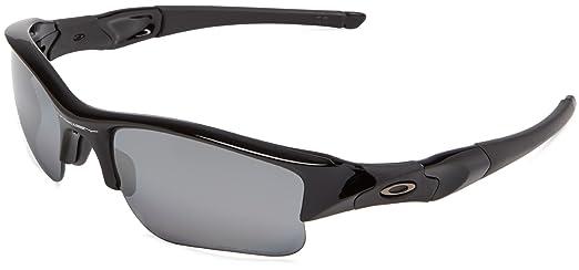 are oakley lenses plastic or glass  oakley oo9009 flak jacket xlj polished black frame/black iridium polarized lens plastic sunglasses