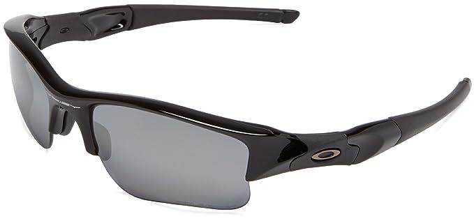 1d462f807d8005 Oakley Flak Jacket XLJ Lunettes de soleil Polished Black Black Iridium  Polarized