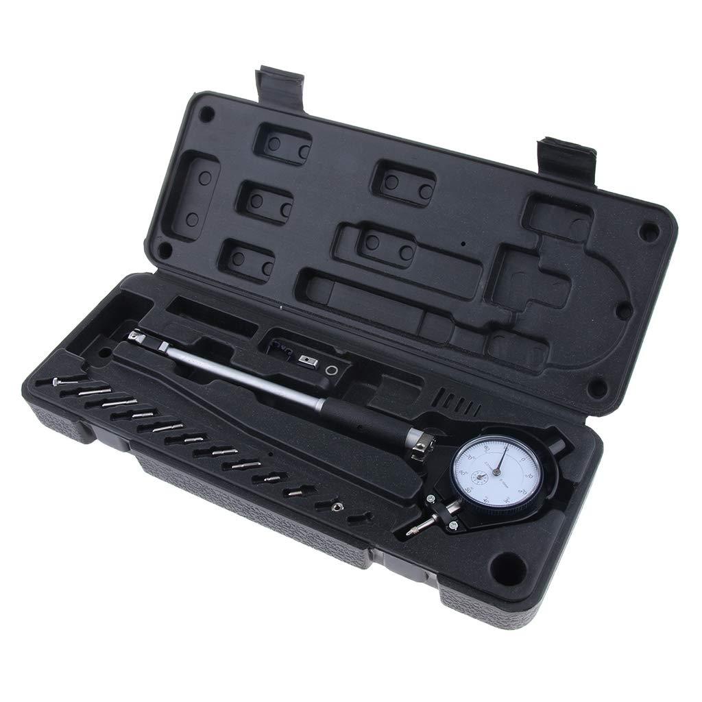 SM SunniMix Dial Indicator Bore Gauge Gage Kit Engine Cylinder 18-35mm/0.7-1.4' 0.01mm, Easy to Use