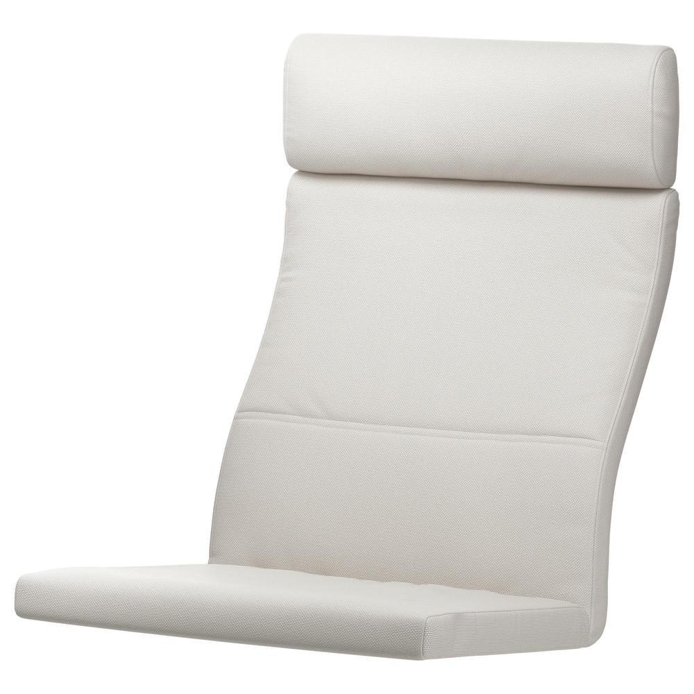 Unbekannt IKEA acolchado para sillón Poäng Modelo blanco finnsta ...