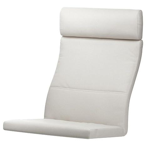 Unbekannt IKEA acolchado para sillón Poäng Modelo blanco ...