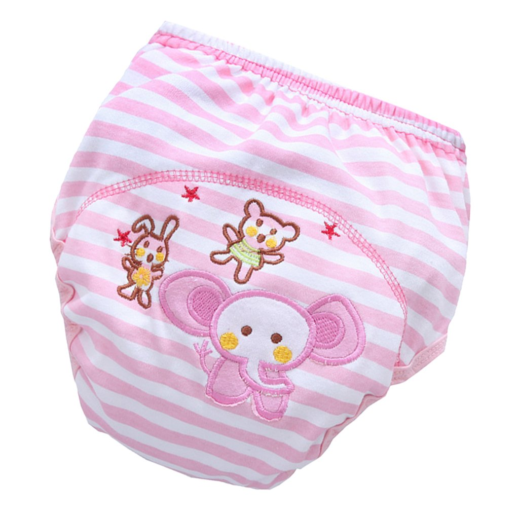 18-36 months Cat MagiDeal Baby Boy Girl Infant Kids Toilet Potty Training Pants Cotton Underwear Nappy