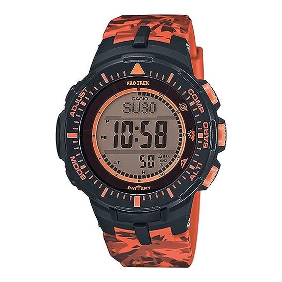 Casio Reloj Digital para Hombre de Energía Solar con Correa en Plástico PRG-300CM-4E: Amazon.es: Relojes