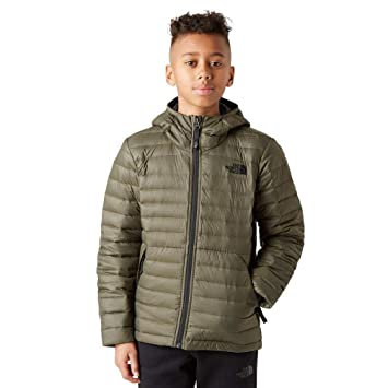 f1ba2f3a04 THE NORTH FACE Children s Boy s Aconcagua Down Hoodie  Amazon.co.uk ...
