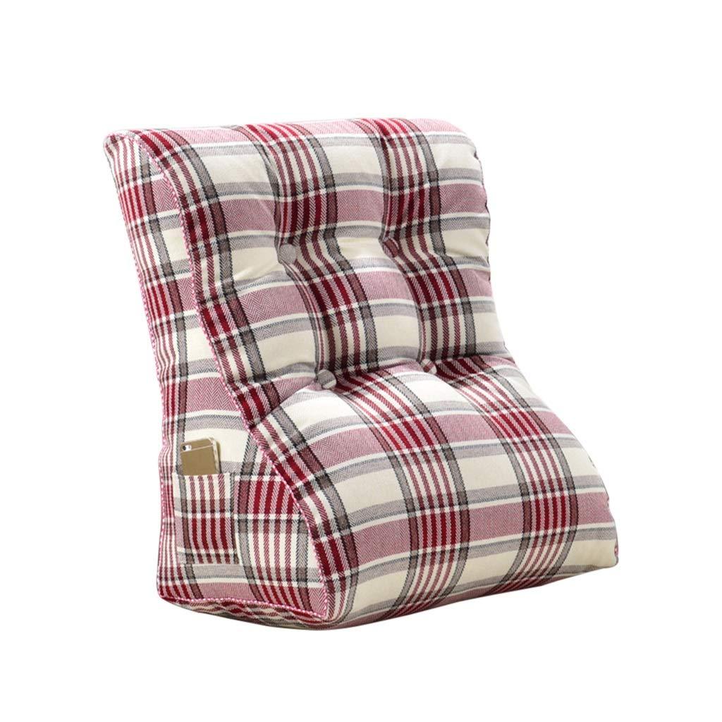 Bed Wedge, Wedge für Wohn- und Schlafzimmer, Sleeping Wedge, um die Wirbelsäule zu entlasten , Stillkissen zum Liegen und Sitzen (Farbe : D, größe : 55x60x30cm)