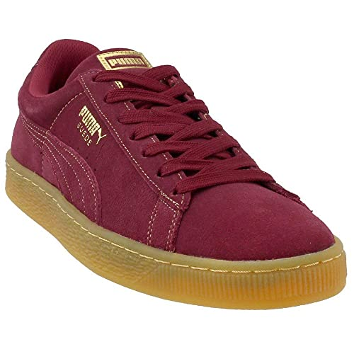 972ea20872fc8f Image Unavailable. Image not available for. Color  PUMA Mens Suede Classic  Gold Foil Casual Athletic   Sneakers