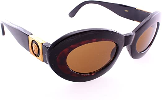 Youth Horned Rim Sunglasses Solid Color Frames Flash Lens with Temple Accents!
