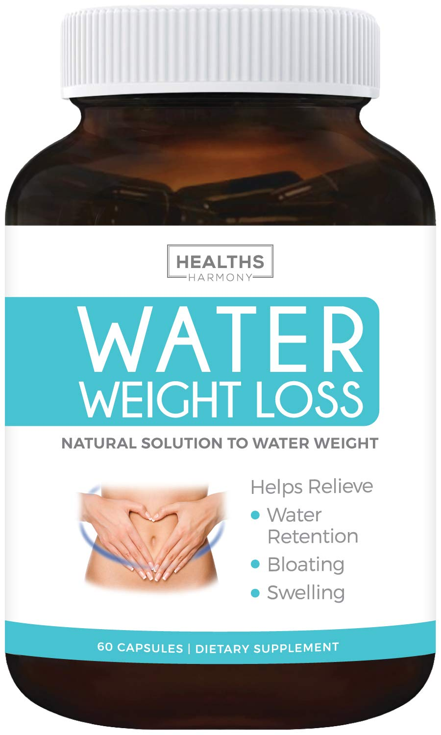 Water Pills Natural Diuretic Helps Relieve Bloating Swelling Water Retention For Water Weight Loss