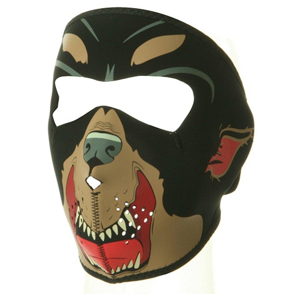 Zanheadgear Neoprene Skull Face Mask (Black/White) WNFM002