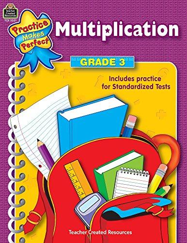 Multiplication Grade 3 (Practice Makes Perfect (Teacher Created Materials))