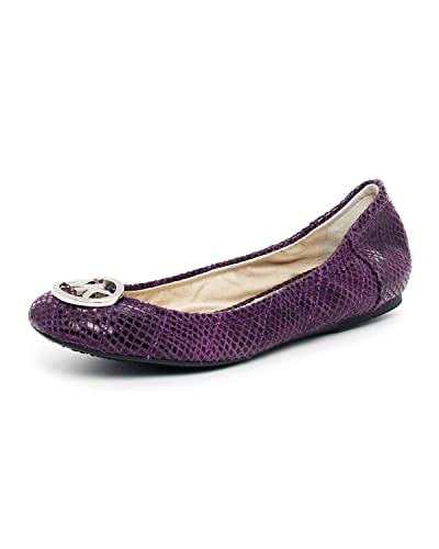 45fa5653f506 Image Unavailable. Image not available for. Color  MICHAEL KORS FULTON  QUILTED BALLET FLAT ...