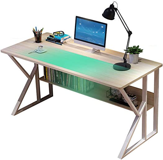 Pocciol Simple Home Desk Student Writing Desktop Desk Modern Economic Computer Desk