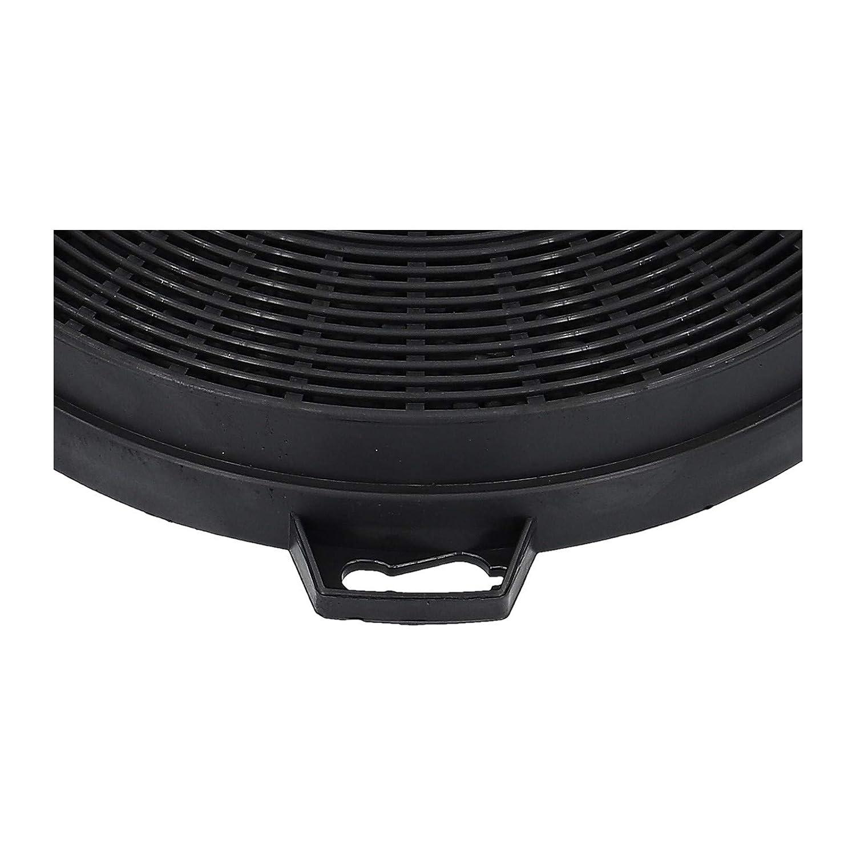 2 Actif Filtre /à charbon Hotte aspirante pour Whirlpool Bauknecht 48128172828343 484000008579 CHF210//1 210//200 mm B210