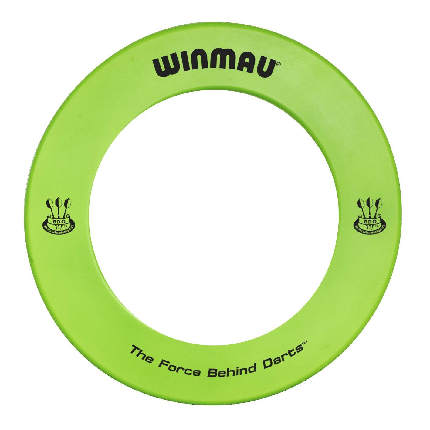 Winmau Professional Printed Dartboard Surround - Green (New Range)