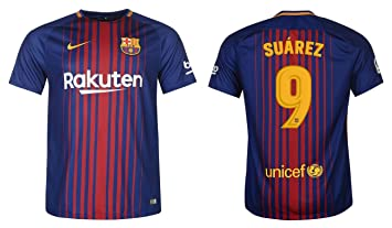 Maillot Domicile FC Barcelona Suárez