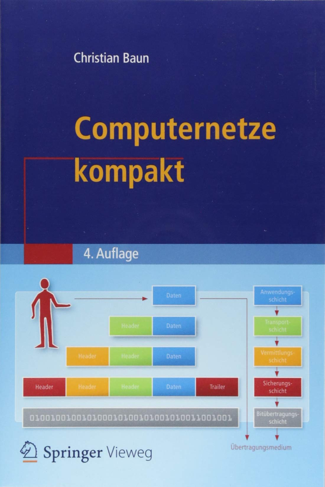 Computernetze kompakt (IT kompakt) Taschenbuch – 25. Juli 2018 Christian Baun Springer Vieweg 3662574683 Computer / PC-Hardware