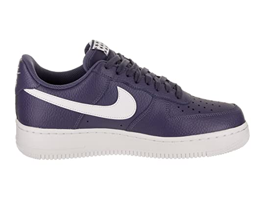 Amazon.com | Nike Mens Air Force 1 Low 07 Stars Basketball Shoes Blue Recall/White AA4083-401 Size 11 | Basketball