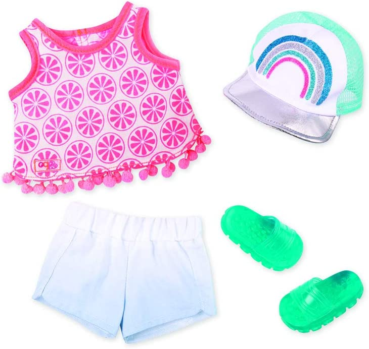 Upbeat and Jazzy Glitter Girls by Battat Outfit 14-inch Doll Clothes– Toys,