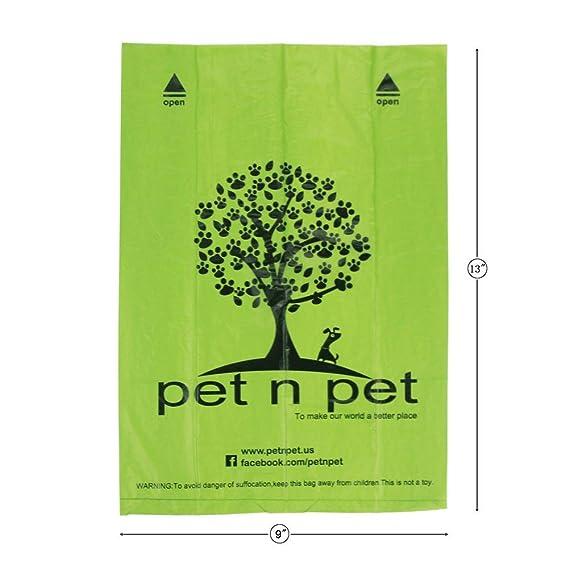 Amazon.com: PET N PET - Bolsas de basura para perros ...