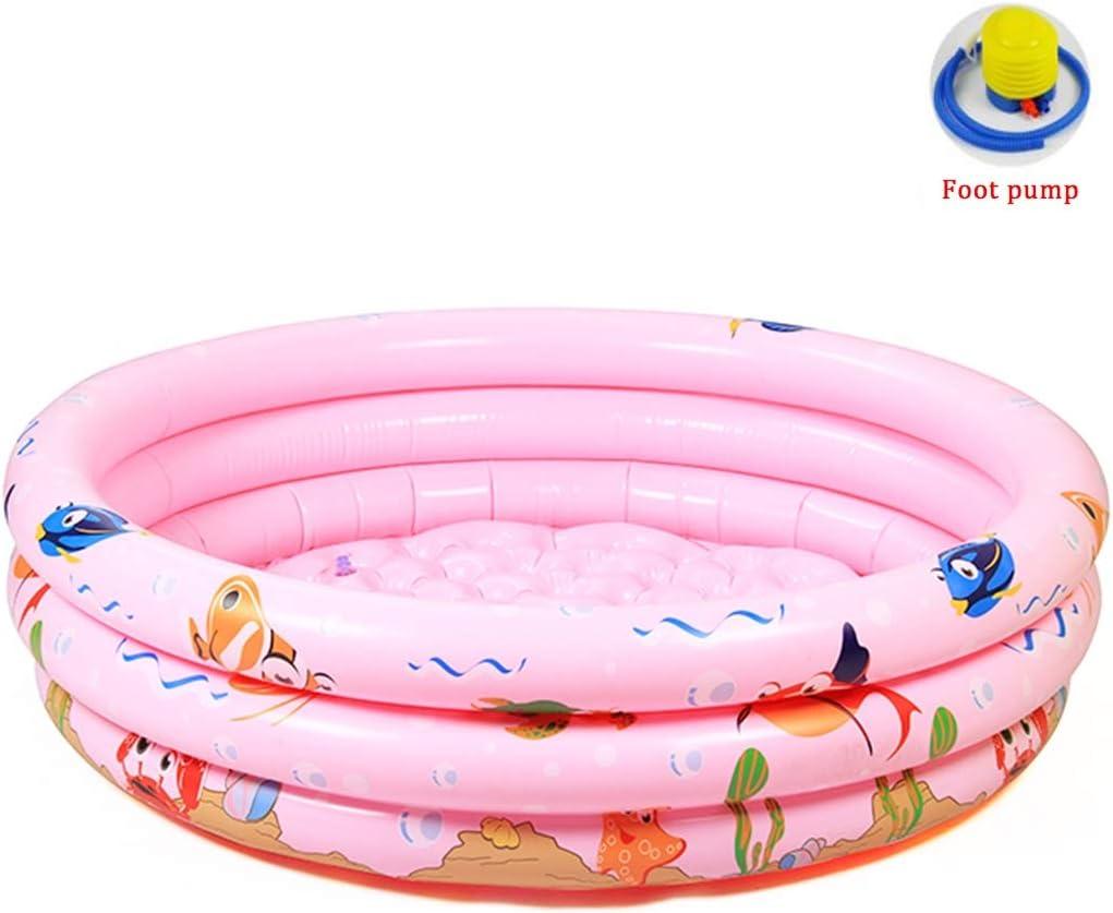 1x Premium Inflatable Swimming Pool Family Paddling Pools Outdoor Garden Bathtub