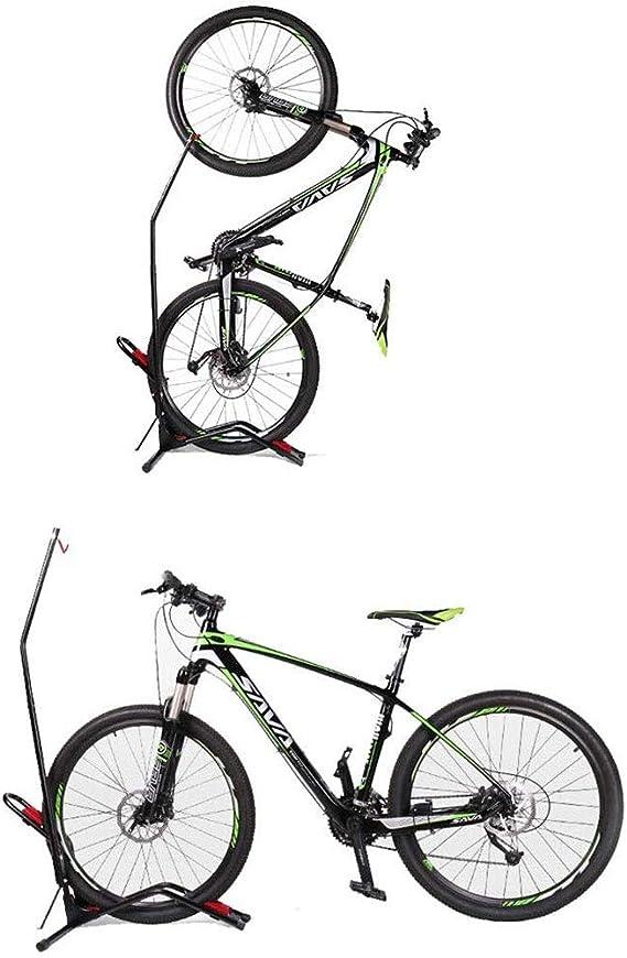 YWAWJ Soporte de la Bici Piso Estante Soporte de la Bici de ...