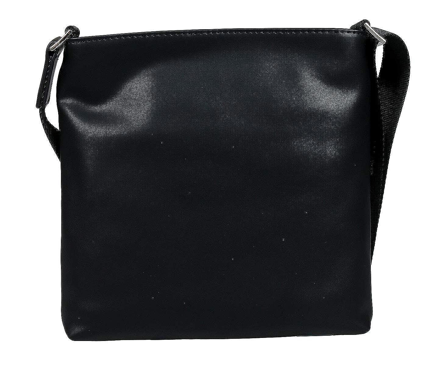 c03d0b50ba Amazon.com: Versace EE1YTBB01 E899 Black Crossbody Bag for Womens ...