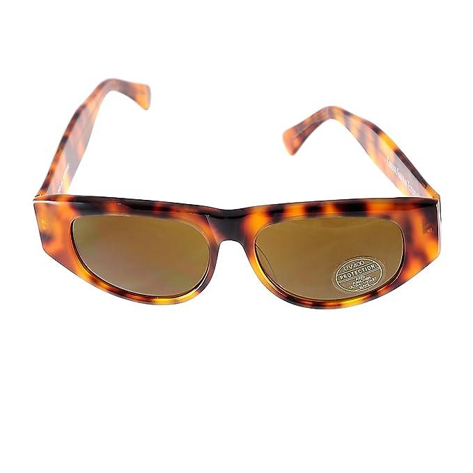 Amazon.com: Cheryl Shuman anteojos de sol Thelma tortuga ...