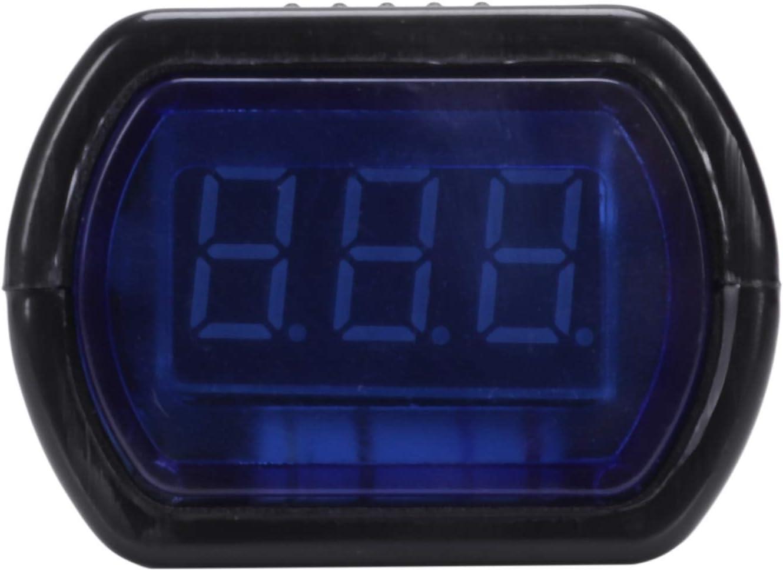 Mifive Encendedor de Cigarrillos Voltimetro Monitor de Voltaje LCD Digital para Coche Camion