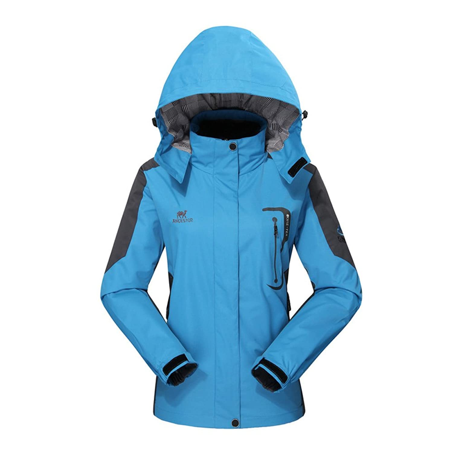 Amazon.com: Diamond Candy Hooded Softshell Waterproof Jacket