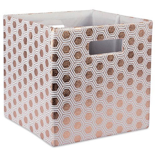DII Hard Sided Collapsible Fabric Storage Container for N...