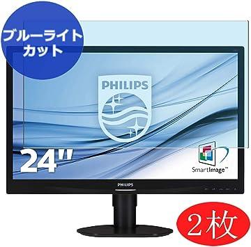 VacFun 2 Piezas Filtro Luz Azul Protector de Pantalla para Philips Monitor S-Line 241S / 241S4LCB 24