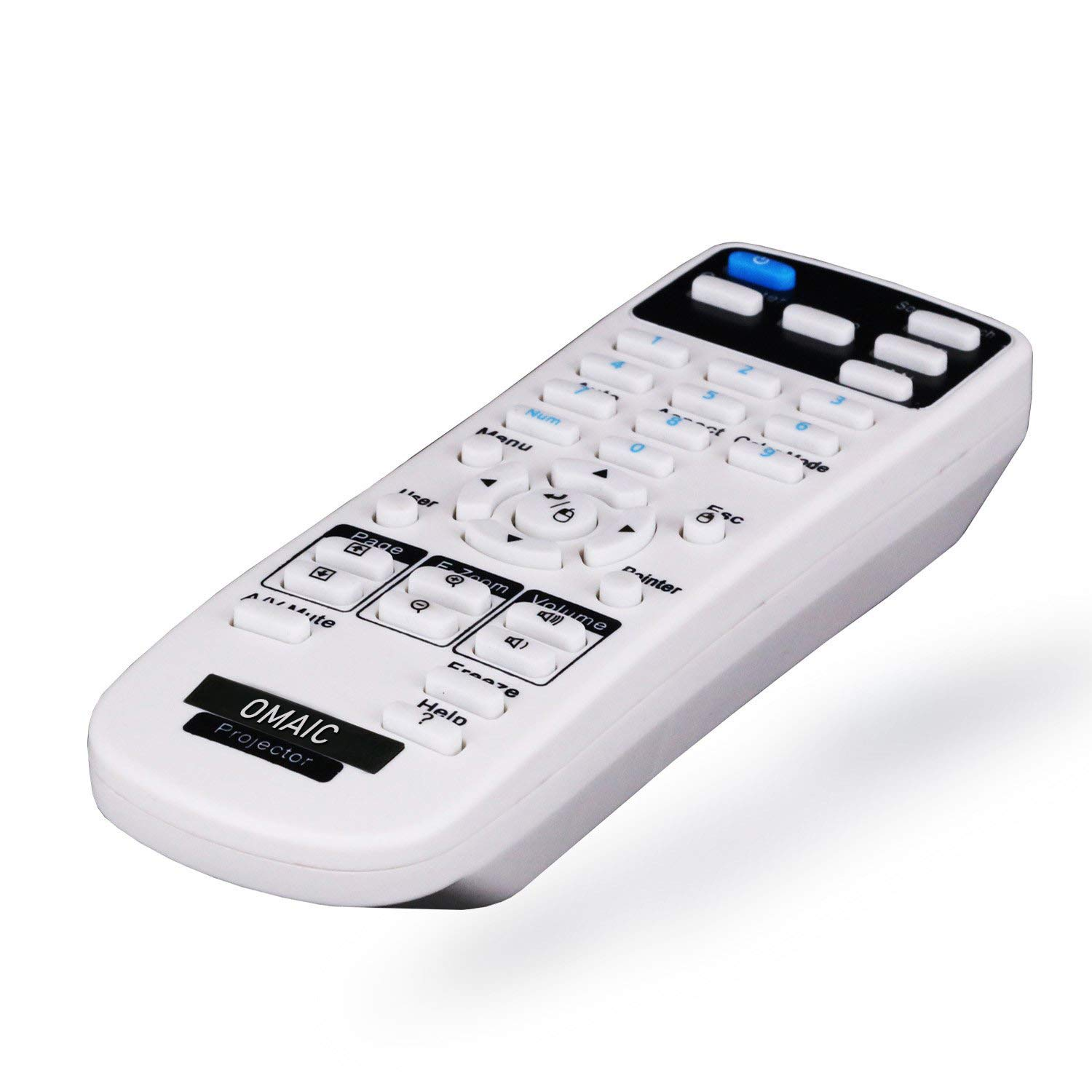 OMAIC Projector Remote Control for Epson Projectors BrightLink 575Wi, 585Wi, 595Wi Bright Link by OMAIC