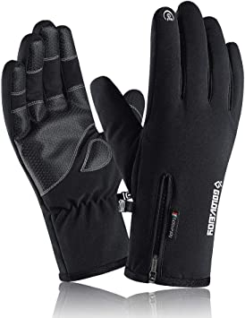 VICKSONGS Guantes Invierno Hombre y Mujer, Guantes Tactiles Movil ...