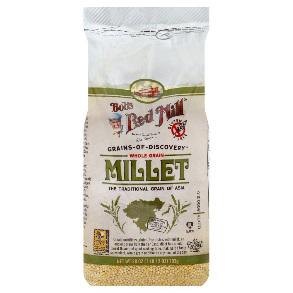 Bobs Red Mill Hulled Millet 28.0 OZ(Pack of 12)