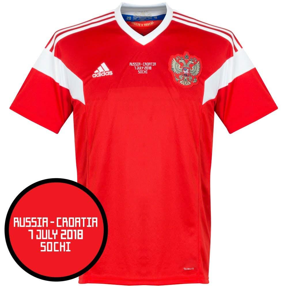 Russland Home Trikot 2018 2019 inkl vs Kroatien WM Druck