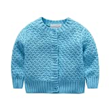 Product review for ESHOO Baby Sweater, Little Baby Boys Knit Cardigan Button Sweater Coat Outerwear