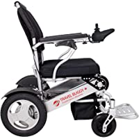 """Travel Buggy Foldable Electric Wheelchair - Plus model features 21"""" Wide Seat - Supports up to 400 lbs but only weighs 52 lbs - Airplane Friendly - Easy to Fold - Large Wheels - Exclusively Sold in Canada - Free Shipping"""