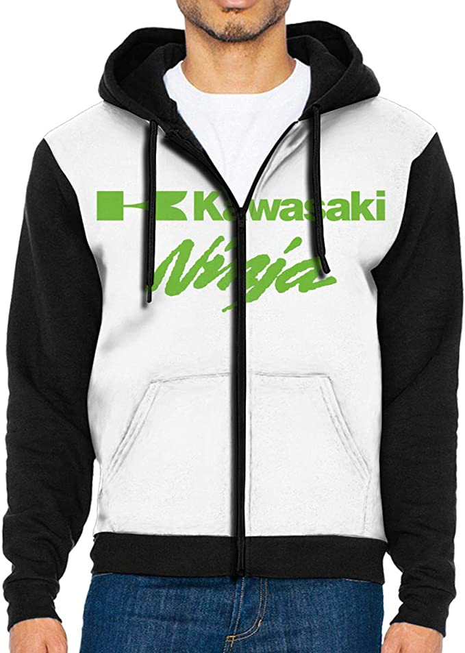 Nyanhif Men Vector Ninja Kawasaki Hooded Bag Long Sleeves ...