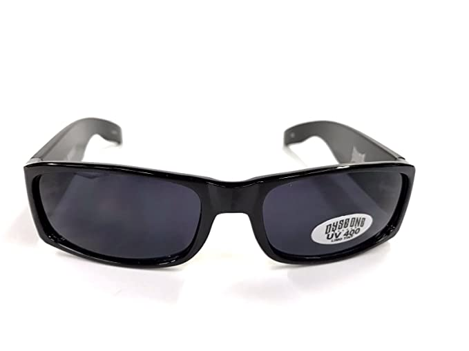 Authentic Dyse One Shades Barrio Impala Car Clown Black Sunglasses California Lowrider Style