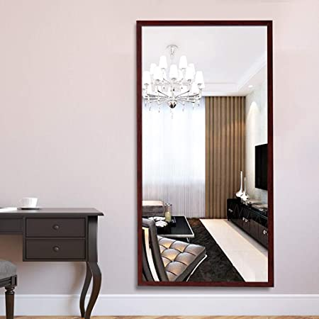 Specchio Camera Da Letto.Specchio Da Terra Ldj Solid Wood Specchio Da Pavimento A