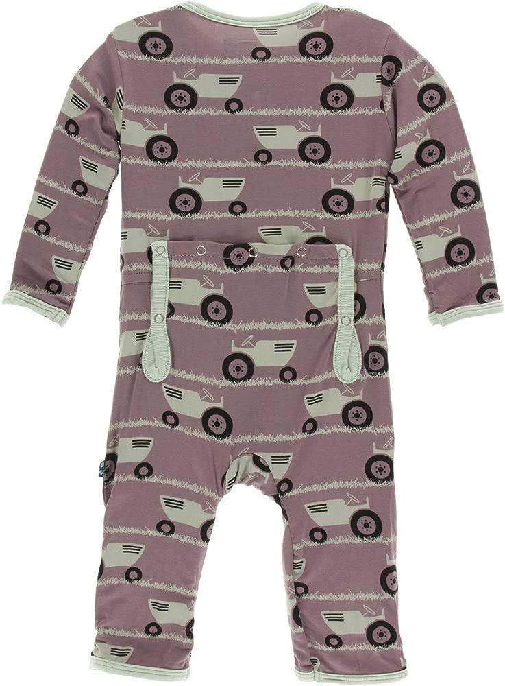 Kickee Pants Little Boys Print Short Sleeve Pajama Set with Shorts 6 Years Apricot Palm Trees