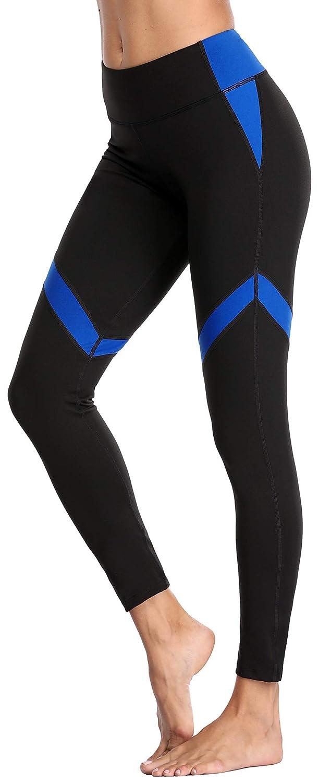 bluee belamo Women's Compression Yoga Pants Tummy Control Leggings Workout Running Pants