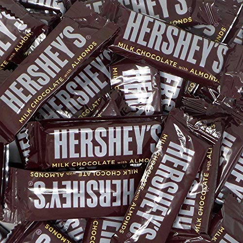 Hershey's Milk Chocolate Snack Size Bars, (Pack of 2 Pounds)  (Mini Chocolate Bars)
