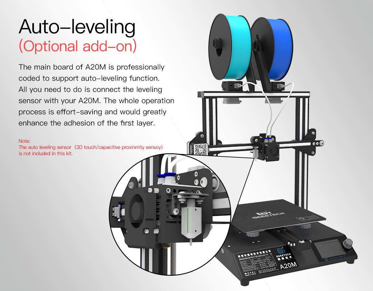 GEEETECH A20M Impresora 3d con Mix de color de impresión integrada, Prusa I3 rápido de Kit DIY de montaje: Amazon.es: Industria, empresas y ciencia
