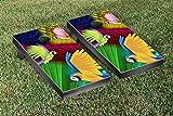 Parrot Paradise Cornhole Bean Bag Toss Game