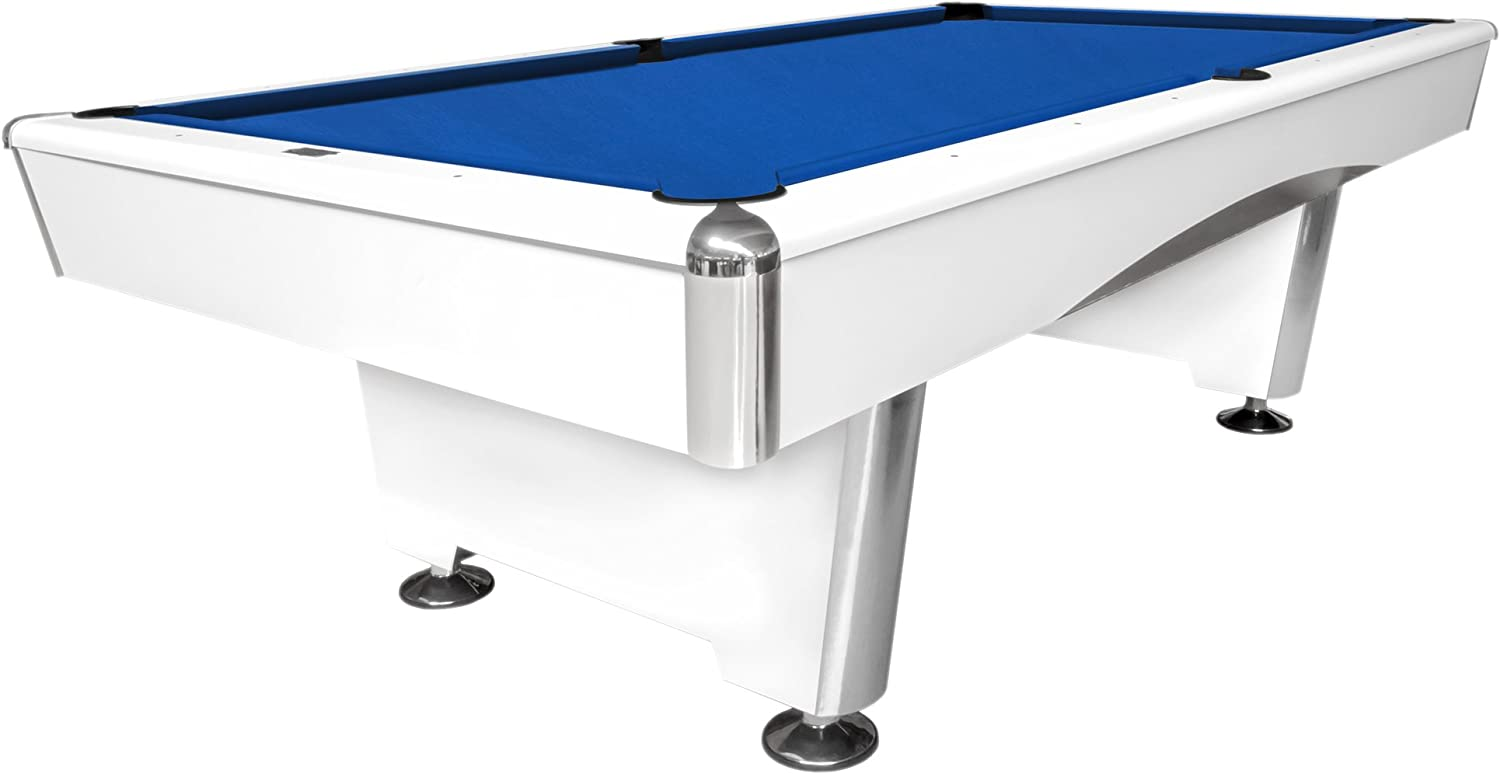 Mesa de billar Dynamic Triumph, 7 ft. (Soporte), color blanco mate ...