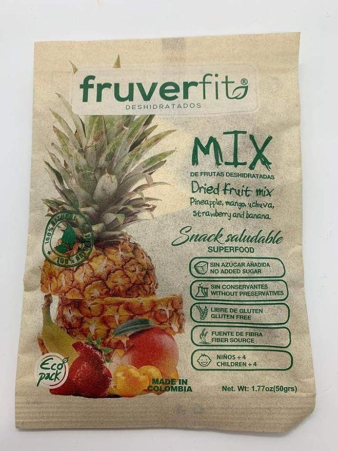 FruverFit Mix de Frutas Organicas Deshidratadas - 12 unidades ...